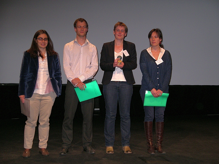 The seventh Iscowa award has been awarded to Mieke Quaghebeur at Wascon 2012 in Gothenburg.