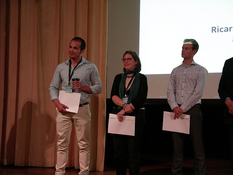 The eighth Iscowa award has been awarded to Ricardo del Valle Zermeño at Wascon 2015 in Santander.