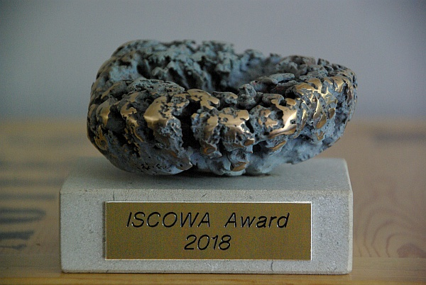 The nineth Iscowa award has been awarded at Wascon 2018 in Tampere.